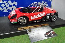 RENAULT SPORT SPIDER cabriolet KICKER rouge #6 au 1/18 ANSON 30352 miniature