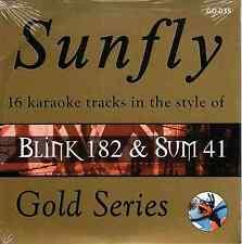 Sunfly Karaoke Gold (SFGD035) - Blink 182 & Sum 41