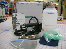 Consew Ces 94A Industrial Gravity Steam Iron w/ Teflon Shoe and Demineralizer