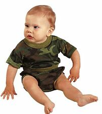 Baby Camouflage Shirt T-Shirt Infant Clothing Tee Rothco Pink or Camo 3 Mo - 4T