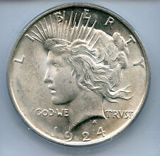 1924-p Peace dollar (ICG MS64) SEE PROMOTION