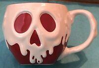 Disney Parks Snow White Evil Queen Poison Apple Ceramic Coffee Mug Cup ~ NEW