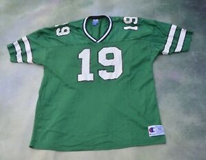 Vintage RARE Champion NFL New York Jets Keyshawn Johnson #19 Jersey Size 56.