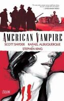 American Vampire Vol. 1 by Scott Snyder and Stephen King (2011, Paperback)
