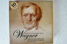 Great singers sing Wagner 10 CD Box Callas Melchior Schorr Hofmann Lubin (Box 5)