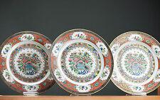 Fine Level!! 20th c. Canton Chine De Commande Export Plates Chinese Porcelain