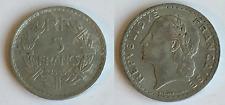 5 francs 1945 FRANCE Aluminium WW2
