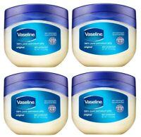 4X- VASELINE ORIGINAL 1.75 Oz Skin Protective Pure Petroleum Healing Jelly Cream