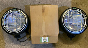 Genuine Land Rover Safari 5000 Driving Spot Lamps & Discovery 2 Wiring Loom Kit