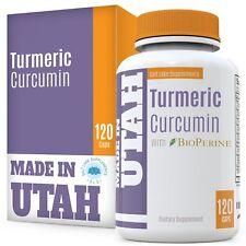 Complejo Dietario De Curcumina Con Bioperine Antiinflamatorio Antioxidante