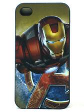 Iron Man iPhone 4g 4s Protect Hardshell Case Marvel Comics Heroes Avengers New