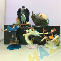 5pcs Hayao Miyazaki Totoro Kiki's Delivery Service Spirited Away Figure Toy