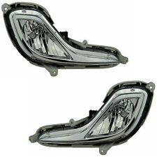 Pair of Fog Lights Hyundai Accent RB 07/11-15 New Sedan Hatchback 12 13 14 Lamp