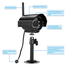 Wireless Digital IR Night Vision Waterproof HD Camera for 2.4GHZ Security System