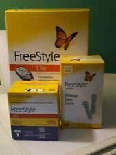 FreeStyle Lite Blood Glucose Monitoring System Pluse 100 Strips & 100 Lancets