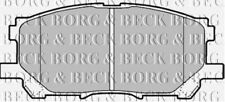 BBP1901 BORG & BECK FRONT BRAKE PADS fits Lexus RX300 03/03-06/09 NEW O.E SPEC!