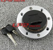 FXCNC Fuel Gas Tank Cap Cover Lock Key For Suzuki GSXR1000 2001-2002
