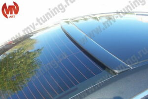 Rear Roof Window Spoiler Lip(Pad) Visor NARROW for Mazda 6 / Atenza GH 2008-2012