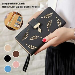 Lady Leather Wallet Long Large Purse Card Phone Holder Case Clutch Handbag new