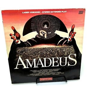 Amadeus Laserdisc | Stereo Extended Play | 1984 Release | Tom Hulce