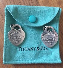 Tiffany and Co Collana Cuore (doppio) medio