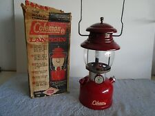 Coleman 200A Burgundy / Maroon 7/62 Lantern High Vent Works Collector Grade