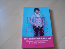 livre  BIEN DANS MON AGE -  Roselyne BACHELOT