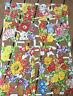 Vintage Die Cut Scrap Sheet (Garden Flowers) Glanzbilder MLP 1560 & 1561 England