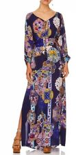 New £765 Camilla Franks Star Gazer Dress With Raglan Sleeves O/S One Size Belted