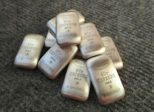 Silver bullion 999.9 50gr  the brand of RUSSIA