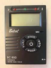 Belcat Bc-850 Guitar/Bass/Violin Tuner Chromatic Pre Owned