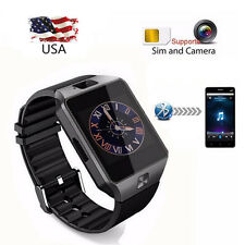 Bluetooth Smart Watch with Camera for Samsung S5 S6 S7 Note 3 4 5 7 LG G2 G3 G5