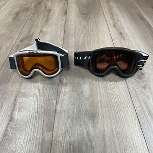Smith Optics Daredevil Snow Ski / Snowboarding Goggles Youth Medium Lot Of 2