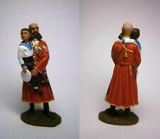 PEINT! Grand-duc de Russie et Tsarévitch Alexeï Romanov avec le cosaque / 54mm