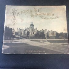 Victoria B.C. The Beautiful City of Western Canada c1900 RARE Book Real Photos