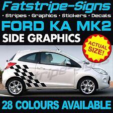 FORD KA MK2 GRAPHICS STRIPES DECALS STICKERS CAR VINYL ST STREET SPORT 1.4 1.6