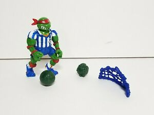 1991 Teenage Mutant Ninja Turtles Sewer Sports Shell Kickin Raph, 100% Complete