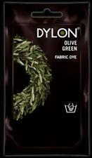 Dylon Fabric & Clothes Dye - Olive Green Hand wash use 50g / 1.75oz