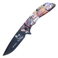 """joker Pocket Knife  Assisted Multi Color 8"""""""