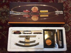 Marklin  Z Gauge Train Set 8170S - Boxed Great Condition