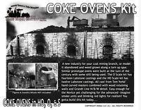 Railroad Coke Ovens Kit Scale Model Masterpieces /YORKE  HO/HOn3/HOn30/1:87