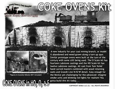 Railroad Coke Ovens Kit Scale Model Masterpieces /YORKE/ HO/HOn3/HOn30/1:87 Fine
