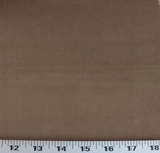 Drapery Upholstery Fabric Polyester Velvet Solid - Medium Brown