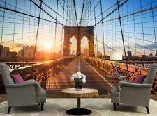 Bridge in New York City  Wall Mural Photo Wallpaper GIANT WALL DECOR Free Glue
