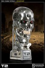 Sideshow Terminator 2 T-800 1:1 Combat Veteran Endoskeleton Bust Figure