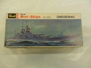 REVELL  MINI-SHIP  GNEISENAU  1:1200   SERIE H-2418  MODEL KIT NAVE