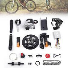 36V Electric Bicycle Conversion Kit 350W Mid-Drive Motor DIY Refit E-Bike Parts
