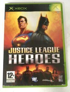 Justice League Heroes Original Microsoft Xbox Game FREE P&P