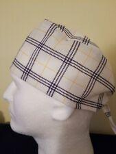 Plaid - Surgical Scrub Hat - Unisex