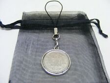 1948 Lucky Sixpence Mobile Phone / Handbag Charm - Nice Birthday Present
